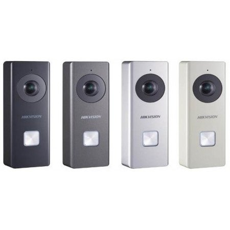 Hikvision HiWatch Hikvision Wi-Fi Video Deurbel,  Introductiekorting t/m 31-01-2019