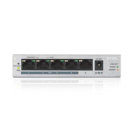 ZyXEL ZyXEL GS-1005-HP, profiteer tijdelijk van Zyxel partnerkorting van 01-02-2020 t/m 31-03-2020