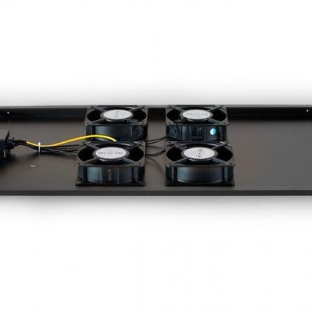 Fan-pakket 4 ventilatoren t.b.v. 1200mm diepe serverkast