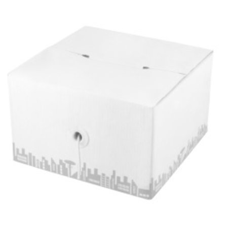 U/UTP Cat5e Installatiekabel, soepel, PVC, 305mtr