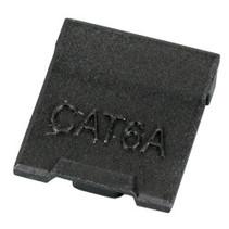 Keystone stofkap voor CAT6a (MIEF9108), zwart