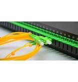 Fiberkabels simplex met APC8 connectoren