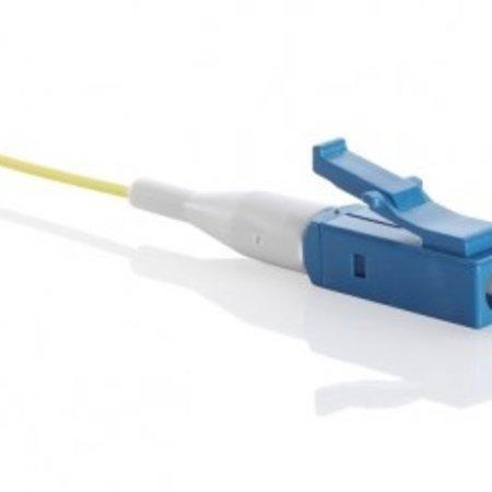 Pigtail simplex G657A LC/UPC LSZH STB, geel 2mtr, 900um