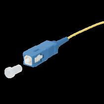 Pigtail simplex G652D SC/UPC LSZH STB, geel 2mtr, 900um