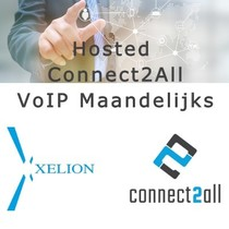 Hosted Connect2All VoIP maandelijks