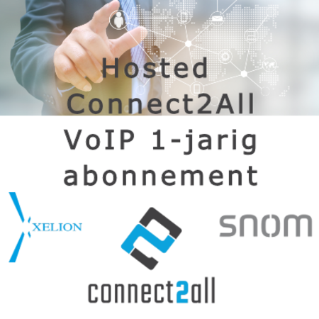 Hosted Connect2All VoIP 1-jarig