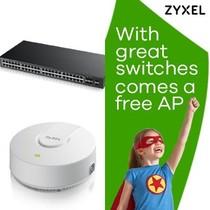 Zyxel GS-1920-48HP v2 met gratis NWA1123-AC v2, promo van 1 t/m 31 oktober 2019