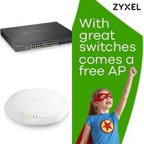 ZyXEL XGS1930-28HPv2 met gratis NWA1123-AC Pro, promo van 1 t/m 31 oktober 2019