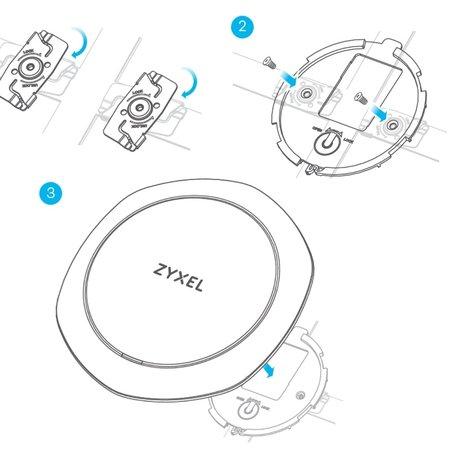 ZyXEL ZyXEL Plafondbevestiging voor AccesPoint (5x2/verpakking)