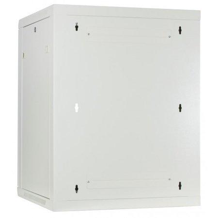 12U Wandkast met glazen deur, wit