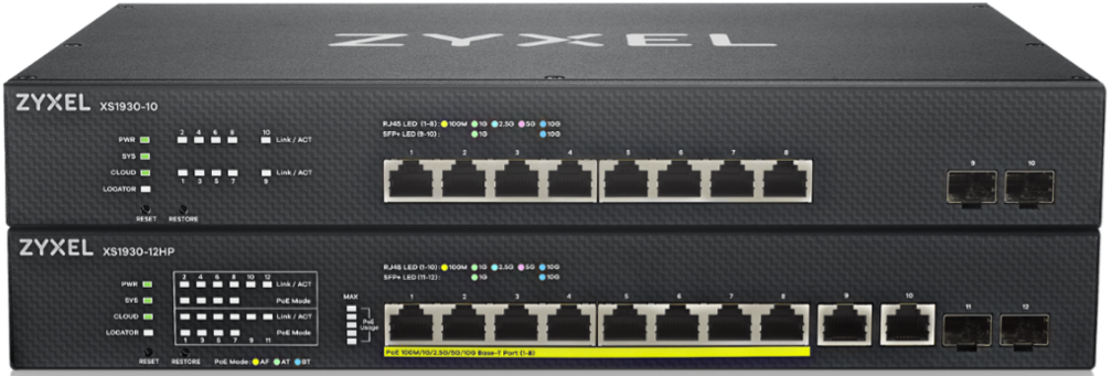 Zyxel XS1930 serie - Twee nieuwe multi-gigabit switches