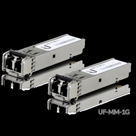 UBIQUITI U Fiber, MultiMode 1G, LC connectoren, 2-pack