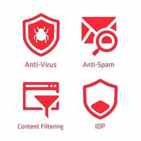 ZyXEL Licentie bundels Web Filtering(CF)/Anti-Malware/IPS(IDP)/AP/AS)/SecuReporter Premium voor USG Flex100, Flex200 en Flex500