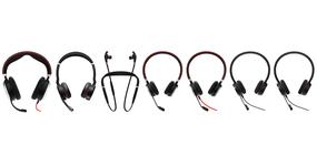 (Klein) verschil tussen Jabra Evolve MS en UC versie headsets