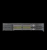 ZyXEL Zyxel GS2220-28HP poorts gigabit PoE+ Nebula-Flex Managed L2 switch