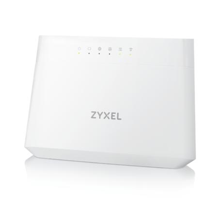 ZyXEL VDSL2 profile 8a/b/c/d, 12a/b, 17a, 30a over POTS Gateway, GbE WAN, 4GbE LAN, 1 USB 2.0, WiFi 11n 2.4GHz 300Mbps, 5GHz 11ac 866Mbps, EU STD version