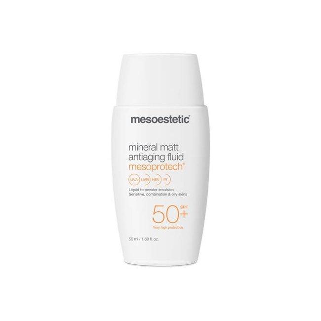 Mesoestetic Mesoprotech Mineral Matt Antiaging Fluid 50+