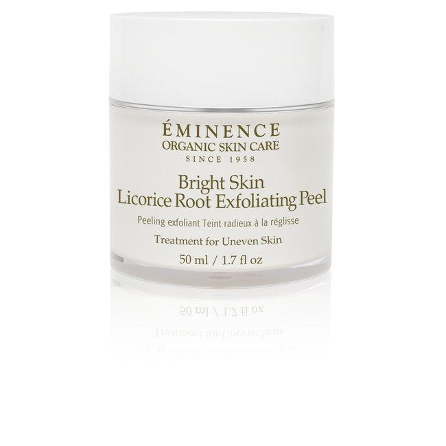 Eminence Organic Skincare Bright Skin Licorice Root Exfoliating Peel