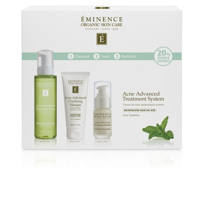 Eminence Organic Skincare Acne Advanced Treatment System