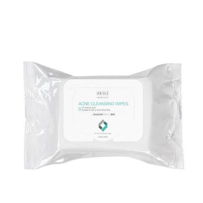 Obagi Medical Suzan Obagi Acne Cleansing Wipes Oily Acne Prone Skin