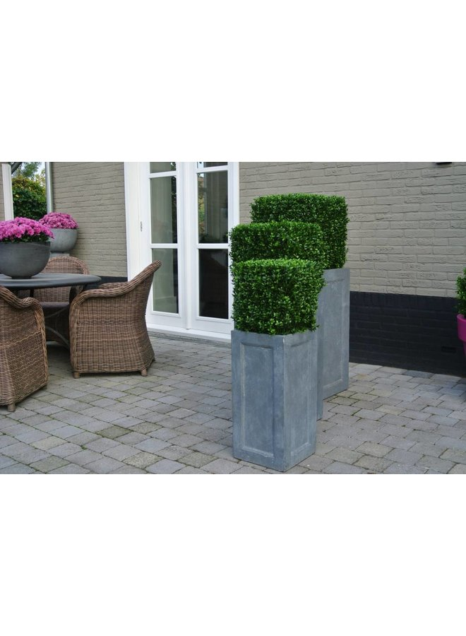 Artificial outdoor Boxwood square 30 cm UV protection