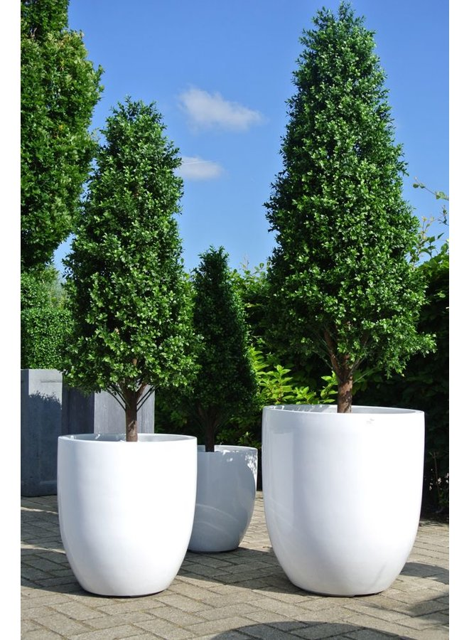 Outdoor artificial Boxwood pyramid tree 110 cm UV protection