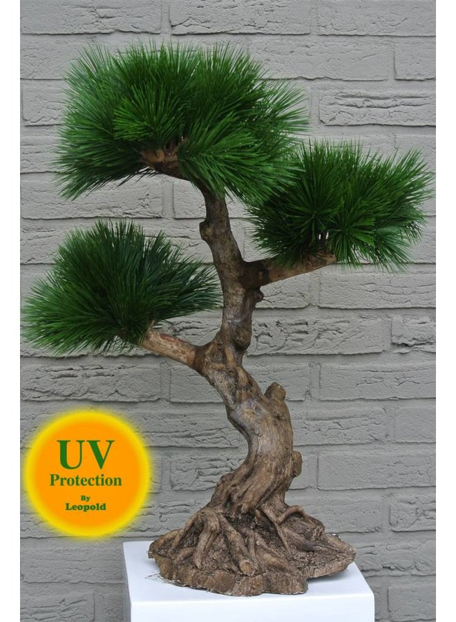 Artificial outdoor Bonsai tree 60 cm UV with 3 levels UV protected
