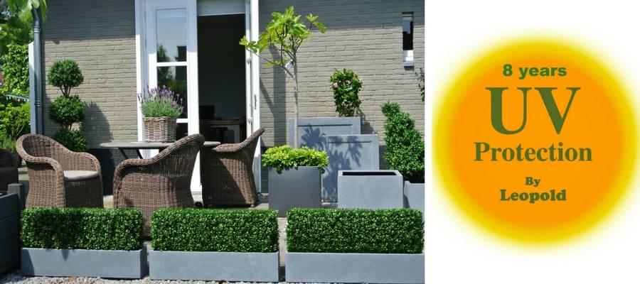 Uw tuin herinrichten met kunststof planten