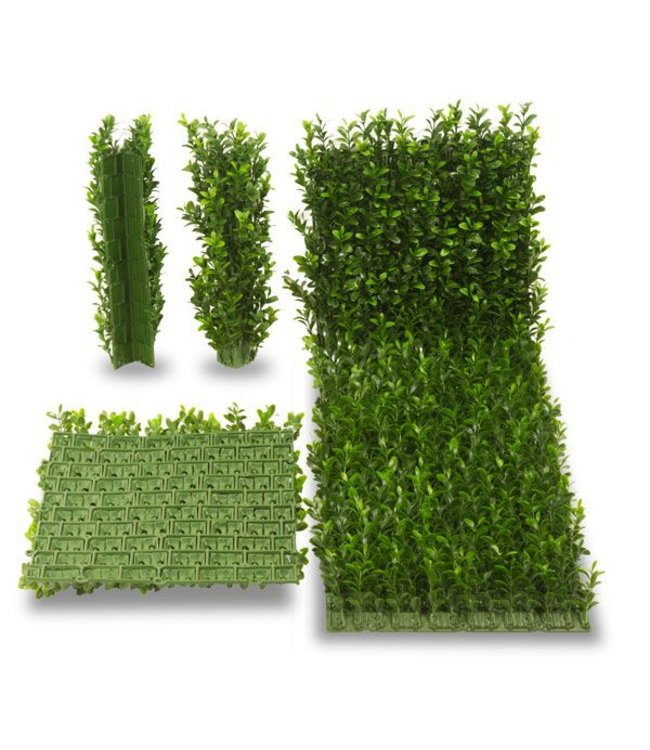 Artificial boxwood mat x140 UV