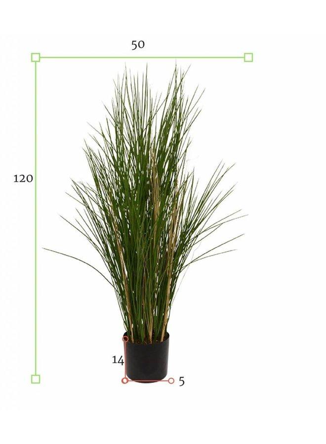 Tall artificial ornamental grass plant 120 cm UV for outdoor