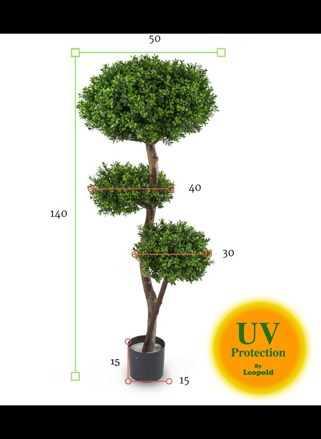 Kunst Buxus Bollen Multistam 140cm UV
