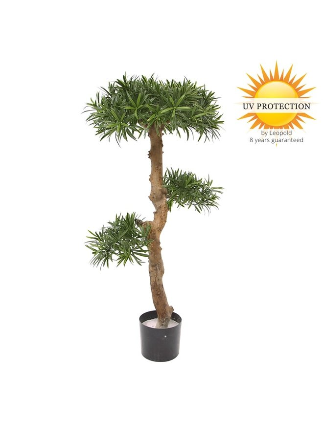 Artificial Podocarpus Bonsai tree 105 cm UV
