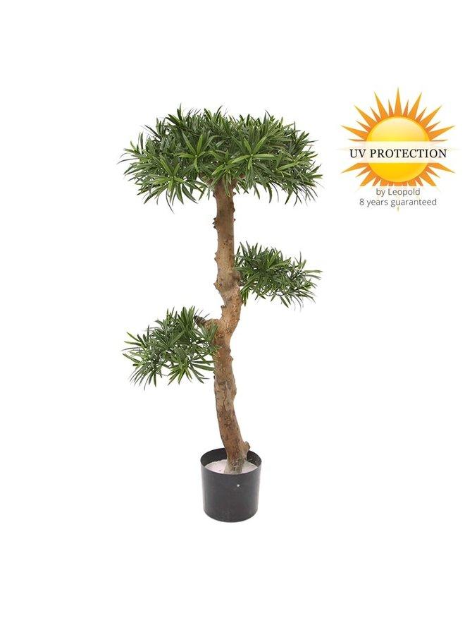 Kunst Podocarpus Bonsai 105 cm UV voor buiten