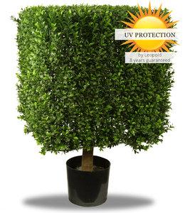 Artificial boxwood square 50cm UV