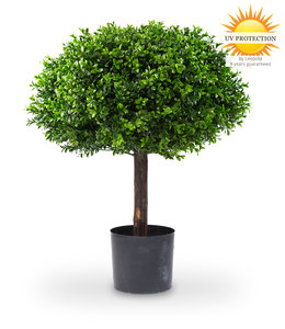 Artificial boxwood ball on small trunk 60 UV