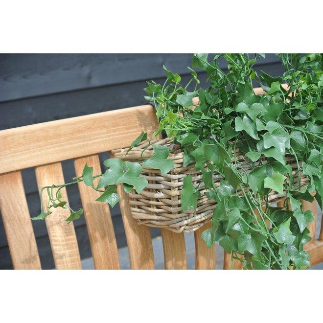 Kunststof  hangplant klimop 65 cm UV voor Buiten