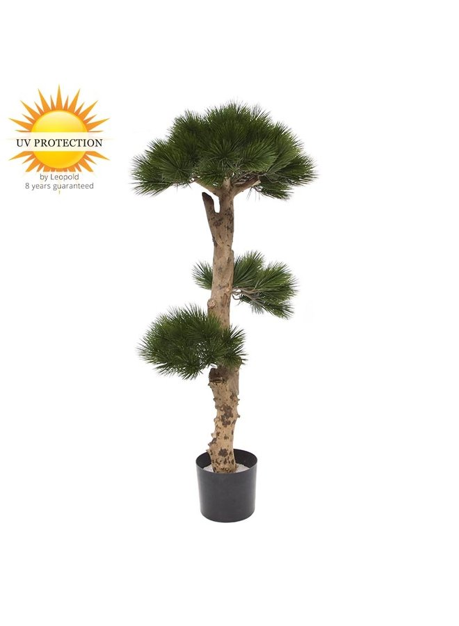 Outdoor artificial Pinus Bonsai tree 110 cm UV