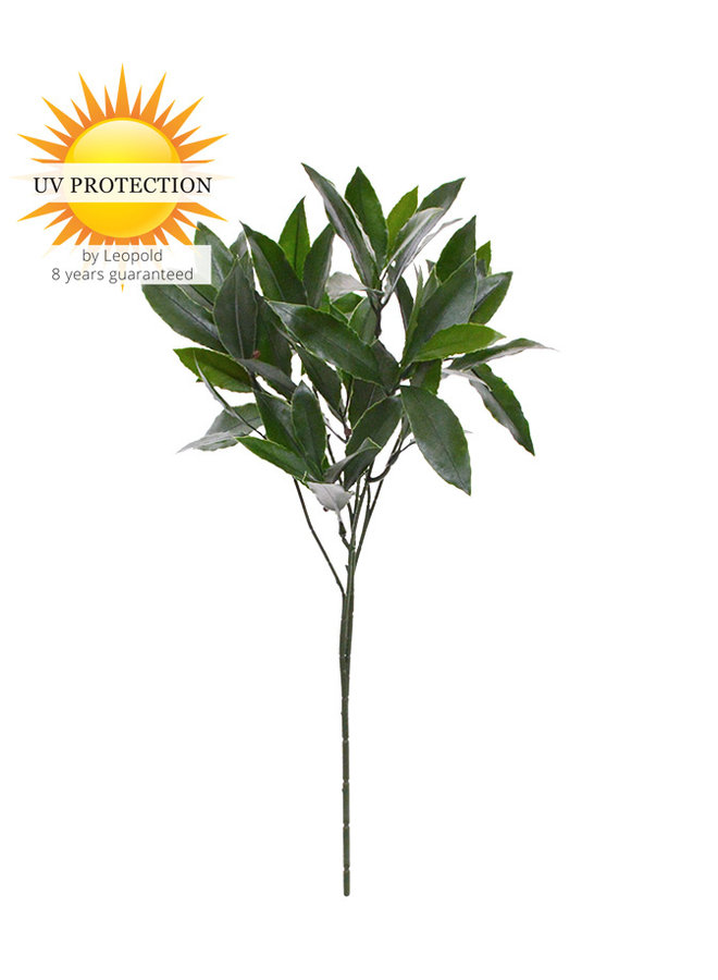 Artificial outdoor Laurel branch 50 cm UV protected