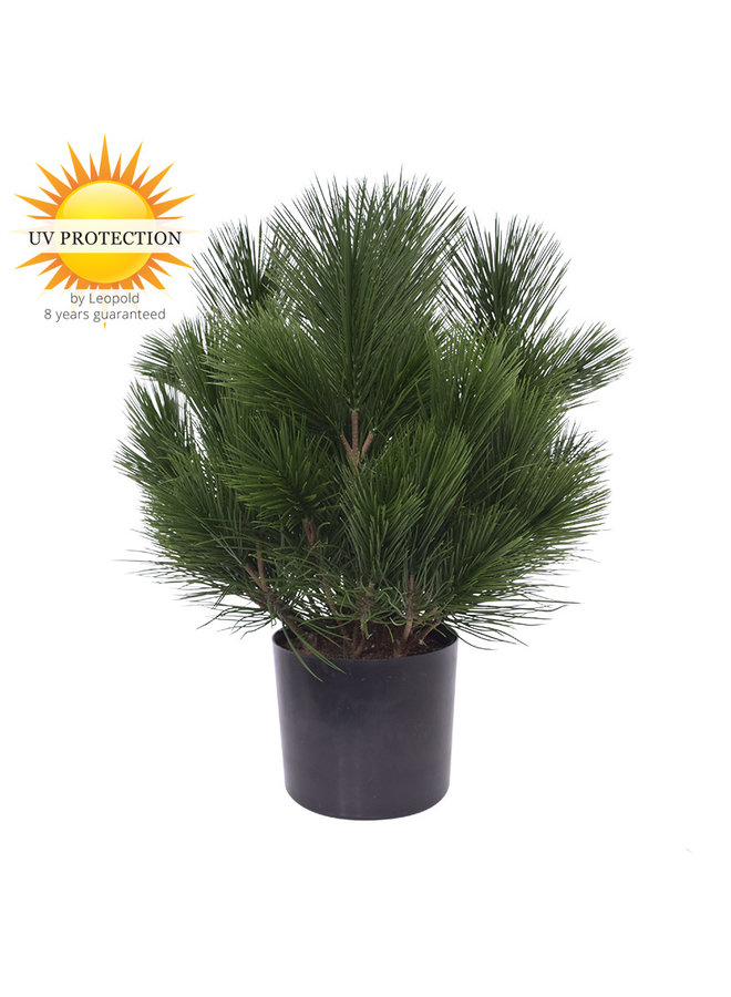 Outdoor artificial Pine bush 45 cm UV protection