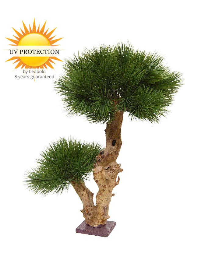 Small artificial Pinus Bonsai tree 55 UV