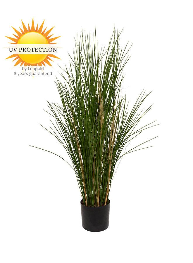 Tall artificial ornamental grass plant 120 cm UV