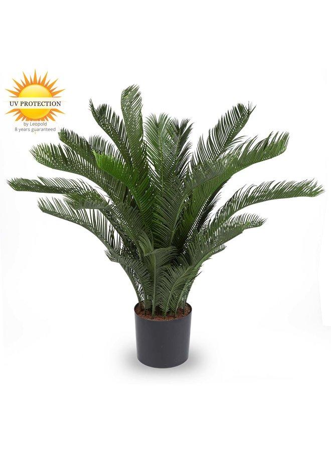 Kunst Palmboom Cycas 80 cm voor Buiten