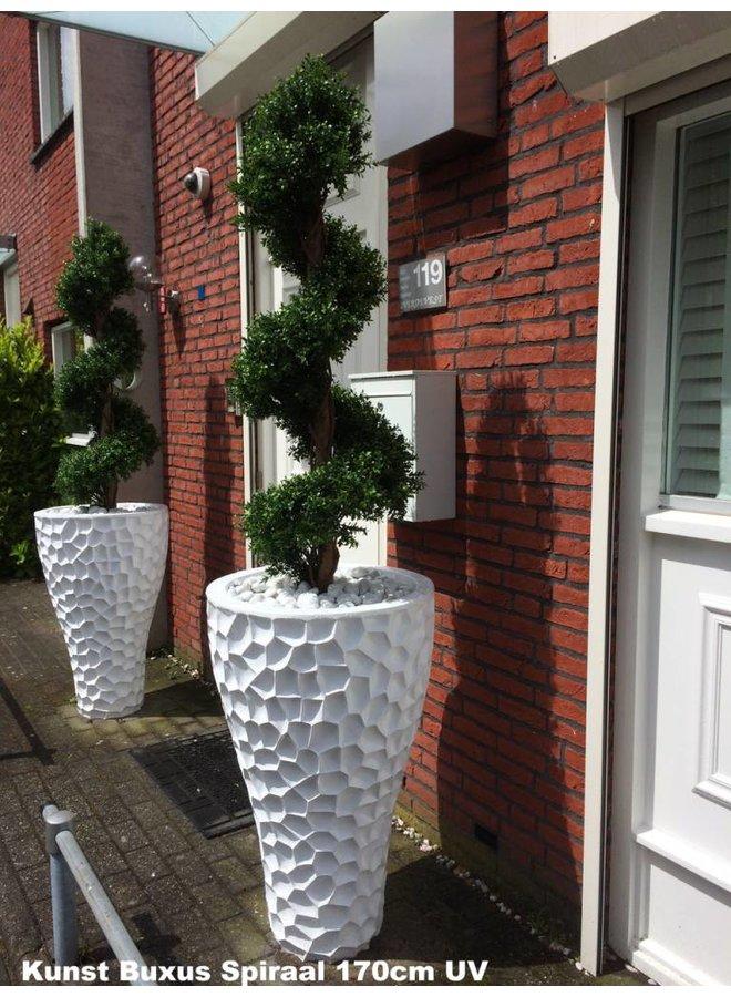 Hoge Kunststof buxus Spiraal boom 170 cm UV