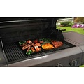 Grill mat - For oven and BBQ - Set of 2