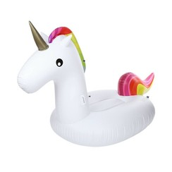 Inflatable Unicorn - XXL - For swimming pool or beach