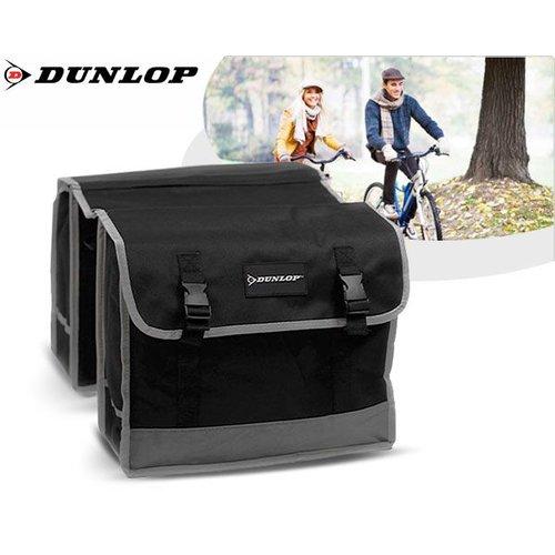 Dunlop Dunlop - Dubbele Fietstas - Zwart