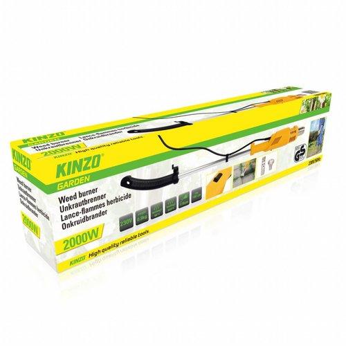 Kinzo Kinzo - Onkruidbrander - 2 branderkoppen - 2000W
