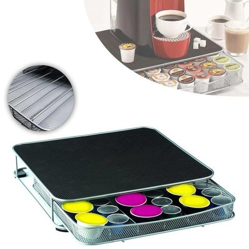Coffee capsule holder - Holder for 60 coffee capsules