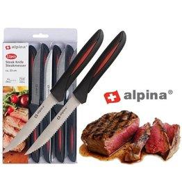 Alpina 12-delige Steakmessenset