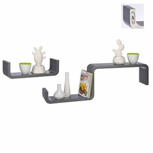 Design wall shelves - 3 piece set - Multiple colours